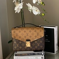 LV Pochette Metis Classic Presbyopia Women's Single Shoulder Bag
