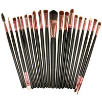Black 20-piece Brush Collection