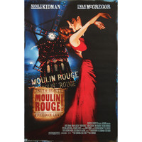 Moulin Rouge! - Domestic Poster