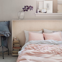Patterned Duvet Cover Set - from H&M