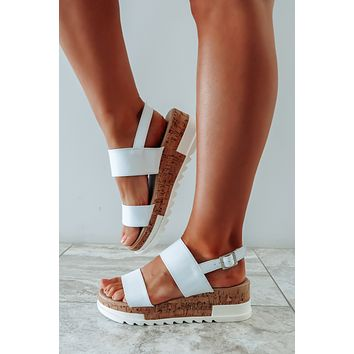 Around The Block Wedges: White