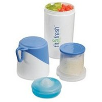 Healthy Food Snacker food storage holder compartment for food on the go healthy option while living in university dorms