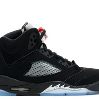 Air Jordan 5 OG '90  Black/Metallic Silver