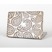 "The Tan Highlighted Paisley Pattern Skin Set for the Apple MacBook Pro 15"" with Retina Display"