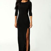 Nicci TShirt Column Maxi Dress