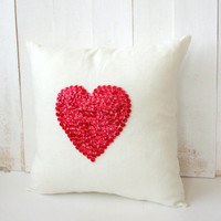 I Love You, Linen, Pillow, Cover, Mothers Day
