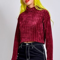 Alex Chenille Turtleneck