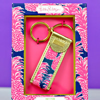 LILLY PULITZER: Key Fob - Flamenco