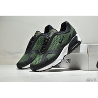 NIKE AIR MAX 270 & 180 Tide brand creative combination design cushioning cushion sneakers Green