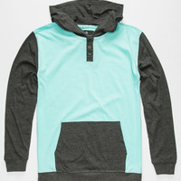 Shouthouse Park City Boys Henley Hoodie Mint  In Sizes