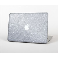 The Silver Sparkly Glitter Ultra Metallic Skin Set for the Apple MacBook Air 13""