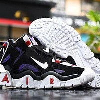 763 Nike Air Barrage Mid Returns in Raptors Colors CD9329-001 High Basketball Shoes Casual Sneaker