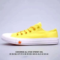 Converse All Star Tide brand low to help star canvas shoes