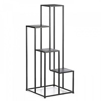 Black Four Tier Plant Stand