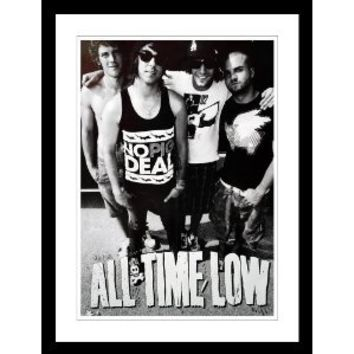 All Time Low Tour Poster