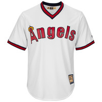 California Angels Cool Base Cooperstown Replica Home Fan Baseball Jersey