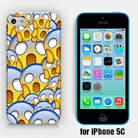 for iPhone 5C - Scared Panic Scream Emoji - Smiley - Emoticon - Ship from Vietnam - US Registered Brand