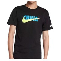 Punk Hipster T-shirt Original New Arrival 2018 NIKE NSW COUNTRY TEE-CN Men's T-shirts short sleeve Sportswear AT_47_3