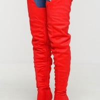 Extraordinaire Boots - Red