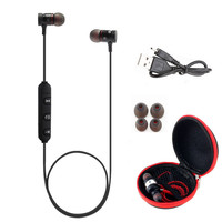 HESTIA BT31 Magnetic Sports Wireless Bluetooth 4.1 AptX Headphones Stereo Earphones Headset With Mic Music Earbuds For IPhone 7
