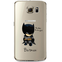 Batman Jelly Clear Case for Samsung Galaxy S7