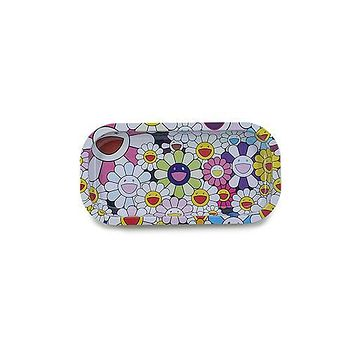 Metal Rolling Tray - Daisy Fields (Slim)
