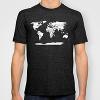 A Political Map of the World T-shirt by Catherine Holcombe