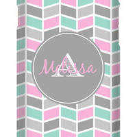 Monogram Multi Color Chevron iPhone 6 Slim Case