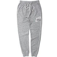 Double Wave Lightweight French Terry Sweatpants Heather Grey