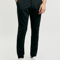 BLACK JERSEY SMART JOGGERS - Men's Joggers - Clothing