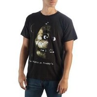 Five Nights at Freddy's Black T-Shirt