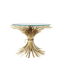 Sheaf Wheat Side Table | Eichholtz Bonheur M