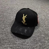 YSL Embroidered Baseball Cap Hat
