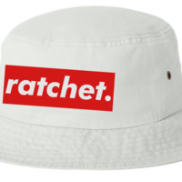 Ratchet bucket hat template