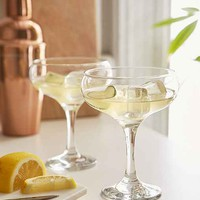 Vintage Style Coupe Glass Set
