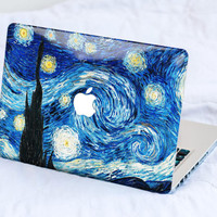 Van Gogh Dreams MacBook Decal Skin MacBook decal sticker MacBook Pro Retina Cover MacBook Air Acer Asus Dell Lenovo Chromebook Starry Night