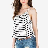 Just The Start Striped Cami