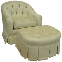 Angel Song 201921167Foam Aspen Cream Adult Park Avenue Adult Rocker Glider