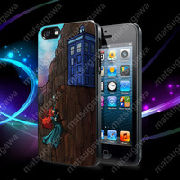 Disney Princess Tardis dr who Case For iPhone 5, 5S, 5C, 4, 4S and Samsung Galaxy S3, S4