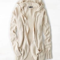 AEO OPEN HOODED CARDIGAN