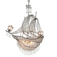 Crystal Ship Chandelier | Hanging Lamps | Lighting | Decor | Z Gallerie