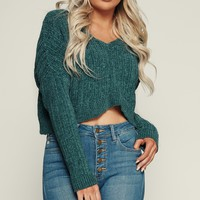 Day To Day Knitted Top (Teal)