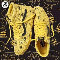 Vans X Peanuts Snoopy Graffiti Sk Hi Shoes 35 44 | Best Deal Online