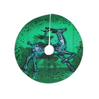 "Anne LaBrie ""Dance On"" Green Blue Tree Skirt"