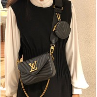 Louis Vuitton LV New Wave Crossbody Shoulder Bag
