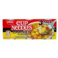 Nissin Chicken-Flavored Cup Noodles