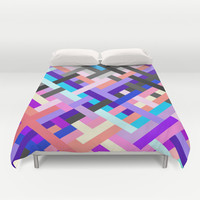 Geometric No. 14 Duvet Cover by House of Jennifer