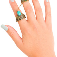 Way To Go Ring - Antique Gold