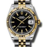 Rolex - Datejust 31mm - Steel and Yellow Gold - Fluted Bezel