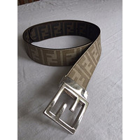 Mens Fendi Belt Reversible 32 Pre-Owned Good Condition Classic